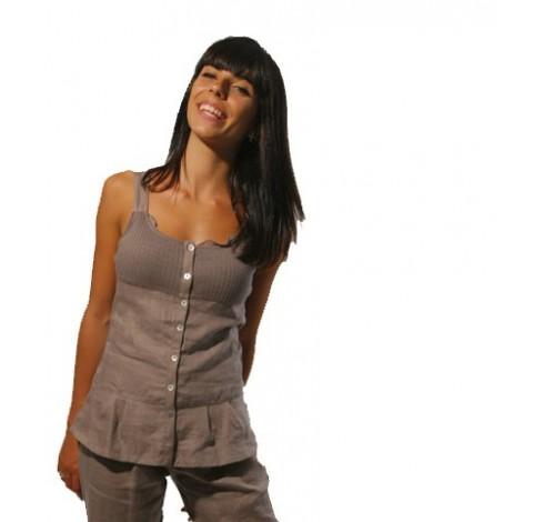 ventes en ligne robe en lin marque maloka. Black Bedroom Furniture Sets. Home Design Ideas