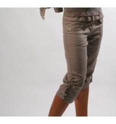 style de mode dernière sélection de 2019 Vente Vente de Pantacourt femme en lin - Mode-Lin.com vêtement ...