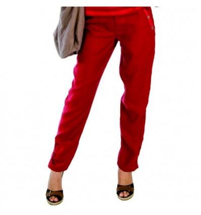 "Pantalon en lin naturel Maloka ""Paris12"""