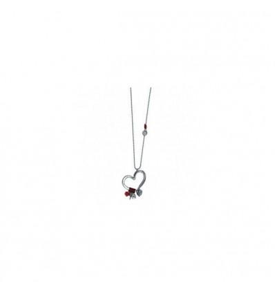 Flechazo - Collier coeur uno de 50