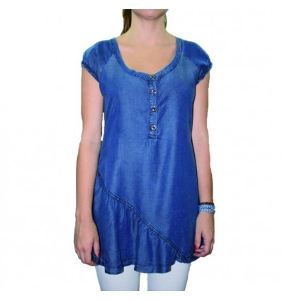 Light tunic Maloka - Tabasco
