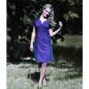 "Chic dress maloka plum color ""Pitt"""