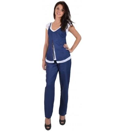 Linen women's trousers brand Maloka - Pombal