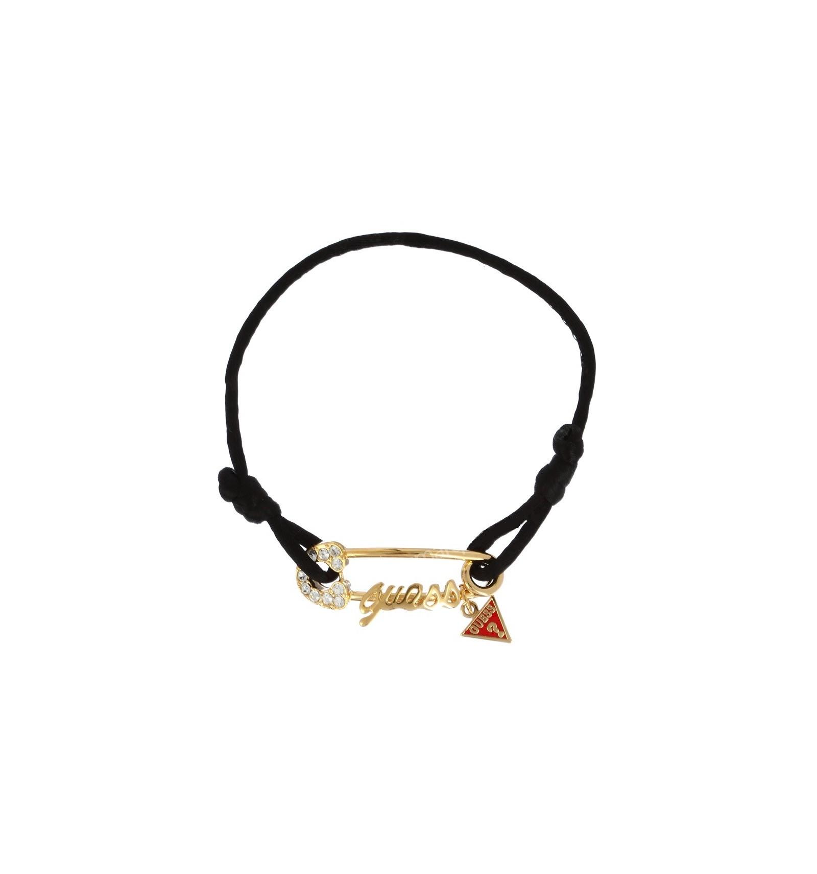 Bracelet Guess avec lien en Soie et Epingle