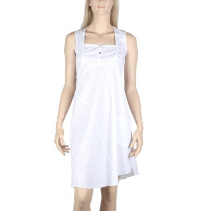 White dress Maloka poplin -Bizance-