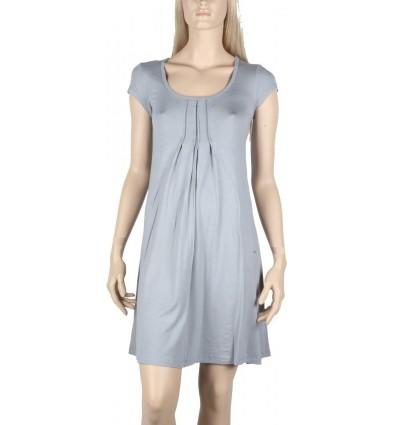 "Short sleeve dress Maloka cloud color ""Violeta"""