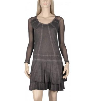 "dress Maloka brown colored long handle ""Alberta"""