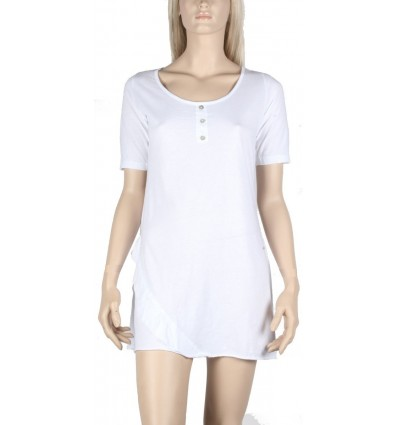 "Dress tunic maloka white ""Fantasia"""