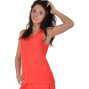 Red tank top in cotton and polyester Maloka - Deb