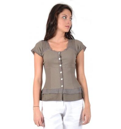 cotton shirt Maloka color wheel - Aziza