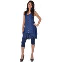 "leggings Maloka en coton et polyestere ""Driss13"" Nuit"