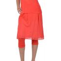 "leggings Maloka en coton et polyestere ""Driss13"" Cerise"