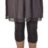"leggings Maloka en coton et polyestere ""Driss13"" Figue"