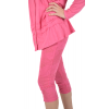 "leggings Maloka en coton et polyestere ""Driss13"" Fushia"