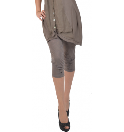 "leggings Maloka en coton et polyestere ""Driss13"" Galet"