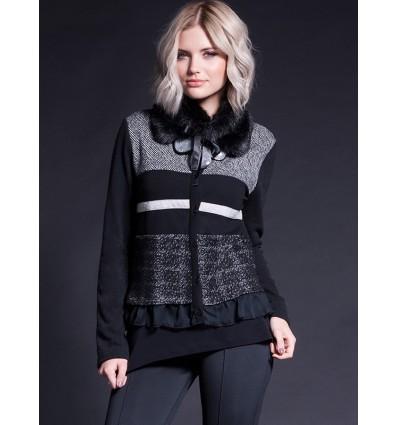 Women's knitted vest